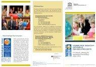 Vorbilder gesucht: Offizielle Dekade-Projekte - Bildung für ...