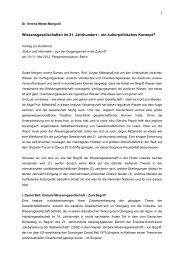 Wissensgesellschaften im 21. Jahrhundert - UNESCO Deutschland