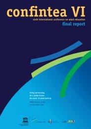 CONFINTEA VI, final report - Unesco
