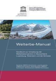 Welterbe-Manual - UNESCO Deutschland