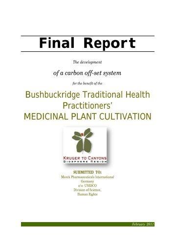 Final Report - Unesco