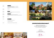 ?Denkmalschutz, Naturschutz und Besuchermanagement? - Unesco