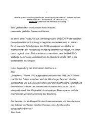 Sehr geehrter Herr Vorsitzender Horst Wadehn, meine ... - Unesco