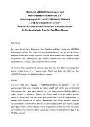 Festrede PDF ( 35,8 KB ) - Unesco