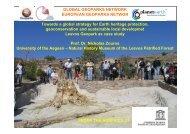 Geoparks - Unesco