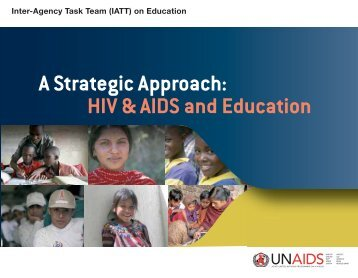 A Strategic approach: HIV & AIDS and education ... - Unesco-Unevoc