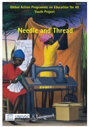 Needle and Thread - Unesco-Unevoc