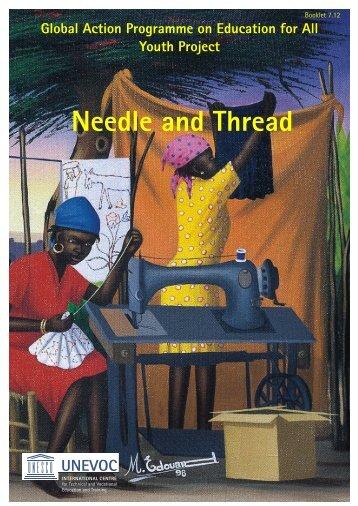 Needle and Thread - Unesco-Unevoc