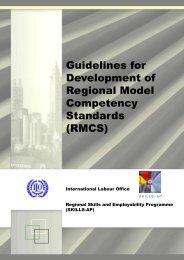 Guidelines for Development of Regional Model Competency ...