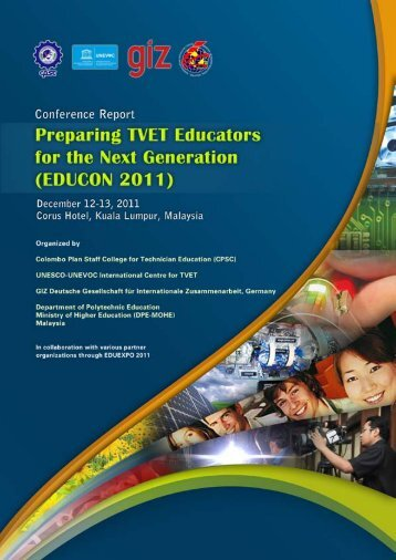 Preparing TVET Educators for the Next Generation - Unesco-Unevoc