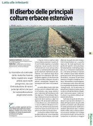 Il diserbo delle principali colture erbacee estensive - Crpv