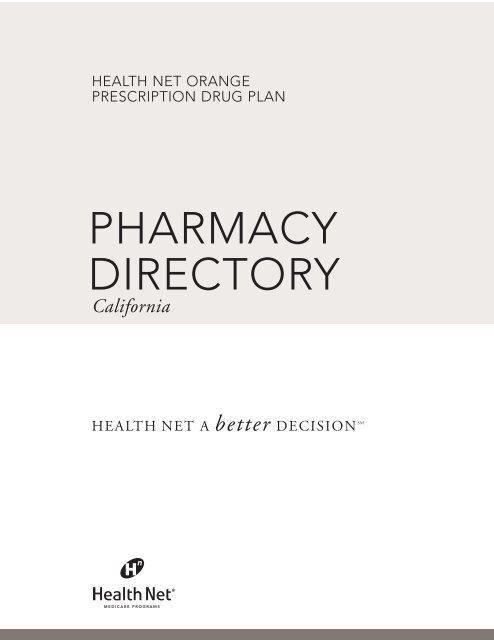 Health Insurance California >> Pharmacy Directory California Health Insurance Anthem Blue