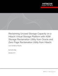 Reclaiming Unused Storage Capacity on Hitachi VSP with ASM ...