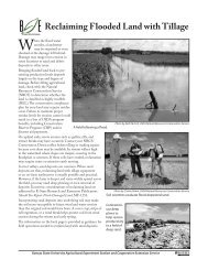 MF1149 Reclaiming Flooded Land with Tillage - K-State Research ...