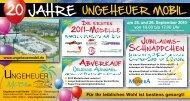 20 Jahre - Ungeheuer Mobil GmbH