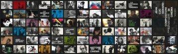 Flyer con tutti i film della retrospettiva - Cineteca di Bologna