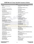 2008 Worker's Comp Industrial Insurance Carriers - Matrix ... - Page 6