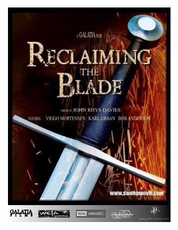 A GALATIA FILM - Reclaiming The Blade