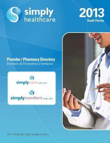 SFL ISNP DIR_MAY 2013.pdf - Simply Healthcare Plans