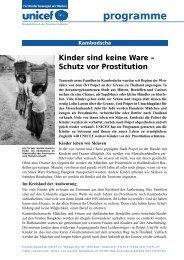 programme - Unicef