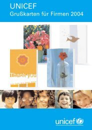 Katalog 2004 - Unicef