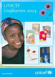 UNICEF Grußkarten 2004