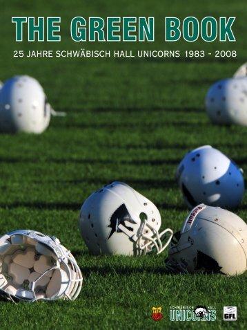 The Green Book Final ALLES.cdr - Schwäbisch Hall Unicorns