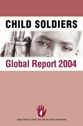 CHILD SOLDIERS - Unicef
