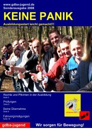 Jav-Wahlen 2008 - Eisenbahn und Verkehrsgewerkschaft