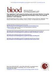 1. Zelinskyy, G., et al. The regulatory T-cell response during acute ...