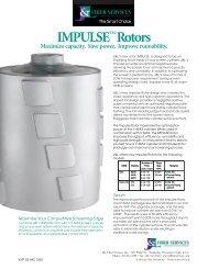 Download Impulse™ Rotors Brochure - J&L Fiber Services, Inc.