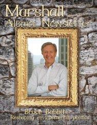 Issue sixteen December 2011 - Marshall Scholarships