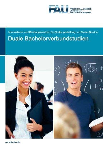 Duale Bachelorverbundstudien - Friedrich-Alexander-Universität ...