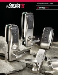 Standalone Access Control - Kleine and Sons, Inc