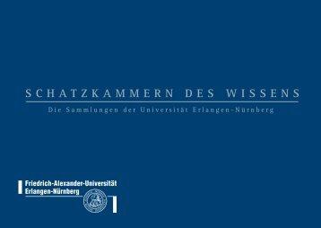 schatzkammern des wissens - Friedrich-Alexander-Universität ...