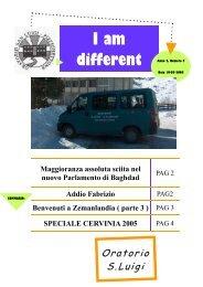 I am different - Parrocchie di Pizzighettone
