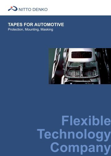 TAPES FOR AUTOMOTIVE