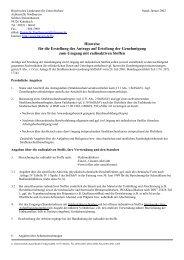 Merkblatt für Anträge auf Umgang mit radioaktiven Stoffen