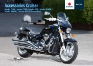 Accessories Cruiser - Suzuki
