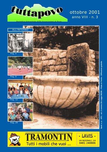 Tuttapovo di ottobre 2001 in formato PDF (2,3Mb)