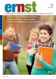 ernst 2012 - Friedrich-Alexander-Universität Erlangen-Nürnberg