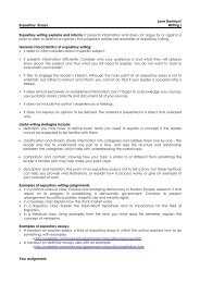 rationale for teaching the expository essay jane dewhurst expository essays writing i expository writing