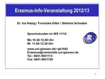 WER KANN AM ERASMUS-PROGRAMM TEILNEHMEN?