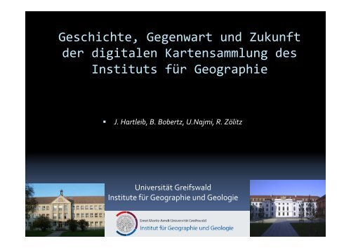 Geschichte, Gegenwart und Zukunft der digitalen Kartensammlung ...