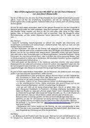 Mein Erfahrungsbericht aus dem WS 06/07 an der Uni Paris-X ...