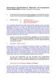 Kommentierte Abschlussklausur >Allgemeine und Anorganische ...