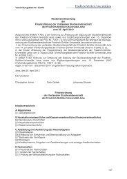 Neubekanntmachung der Finanzordnung der Verfassten ...