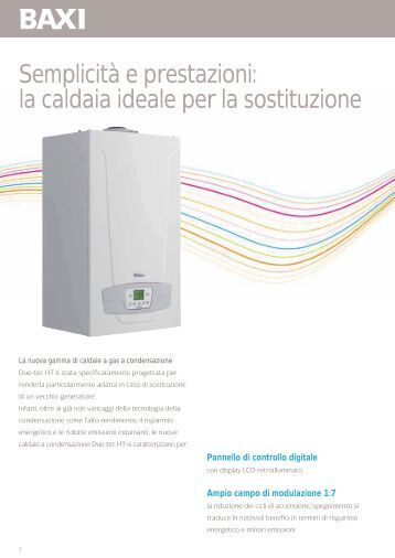 Magazines for Manuale baxi duo tec