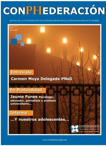 Revista 03 - ABRIL - Confederación de Entidades para la Atención