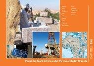 Paesi del Nord Africa e del Vicino e Medio Oriente - Cooperazione ...